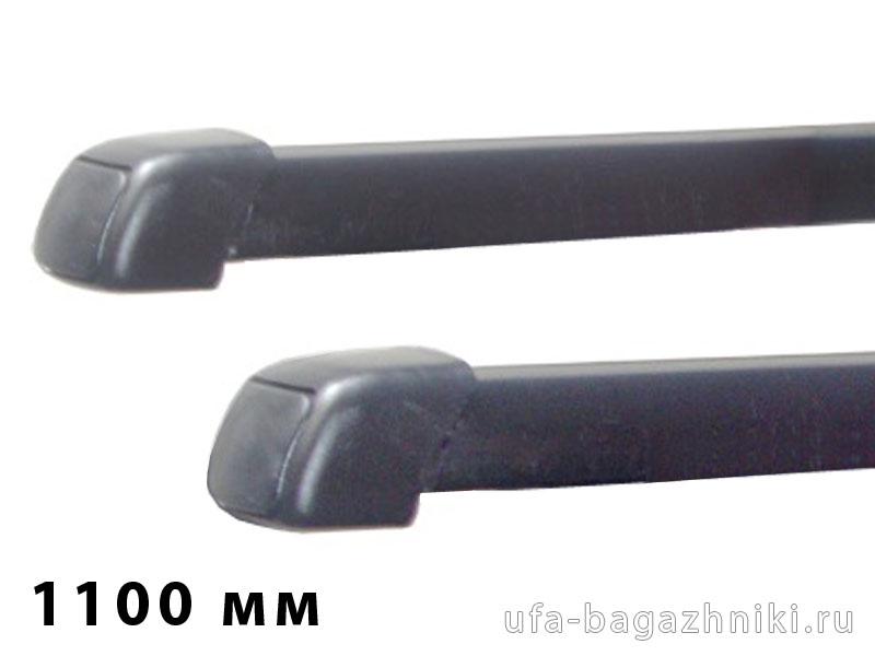 Дуги багажные, стальные в пластике, прямоугольный профиль, Lux - 1100 мм, артикул 691929