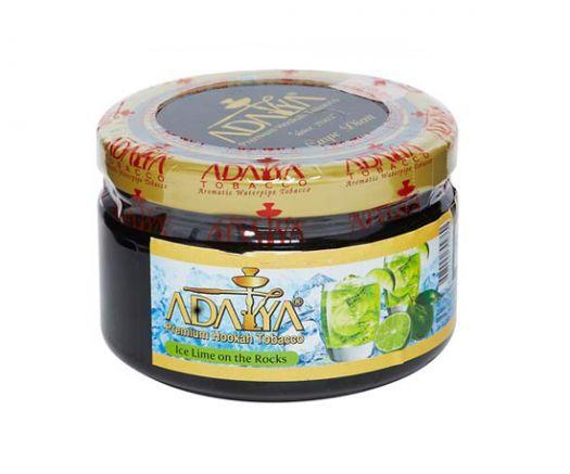 Табак для кальяна Adalya Ice Lime On The Rocks (Ледяной лайм)