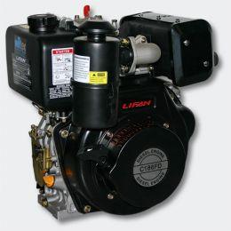 Lifan C186FD-6A  (10 л.с., электростартер, дизель)