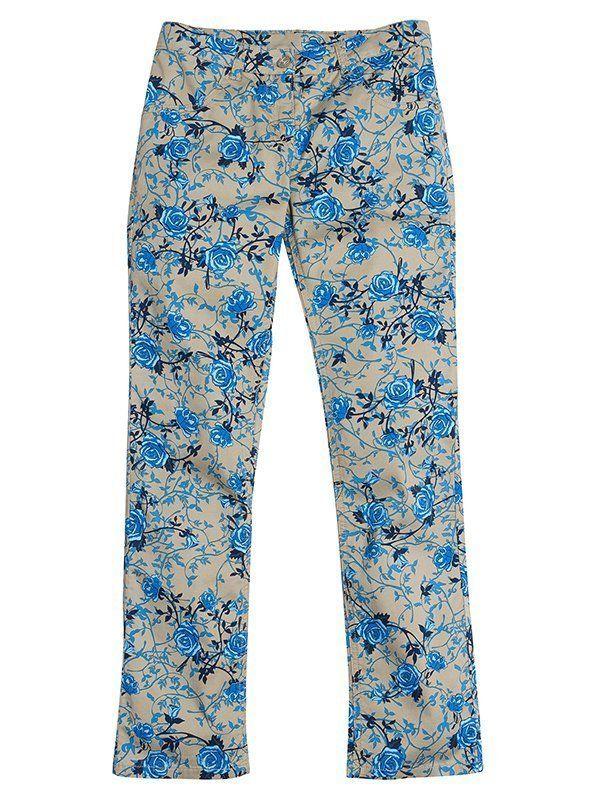 Текстильные брюки для девочек 13 лет
