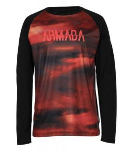 ARMADA CONTRA crew L/S resin men