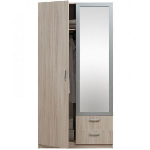 """Шкаф 2-дверный 5.13Z """"Эко"""" с зеркалом"""