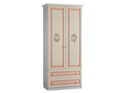 "Шкаф 2-створчатый с ящика ""Алиса"" (982х503х2148)"