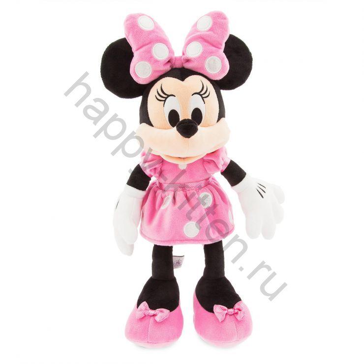 Мягкая игрушка розовая Минни Маус 48 см Дисней