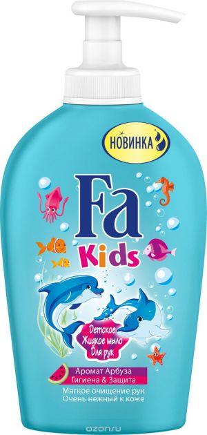 Мыло жидкое FA Kids 250мл Гигиена&Защита Арбуз