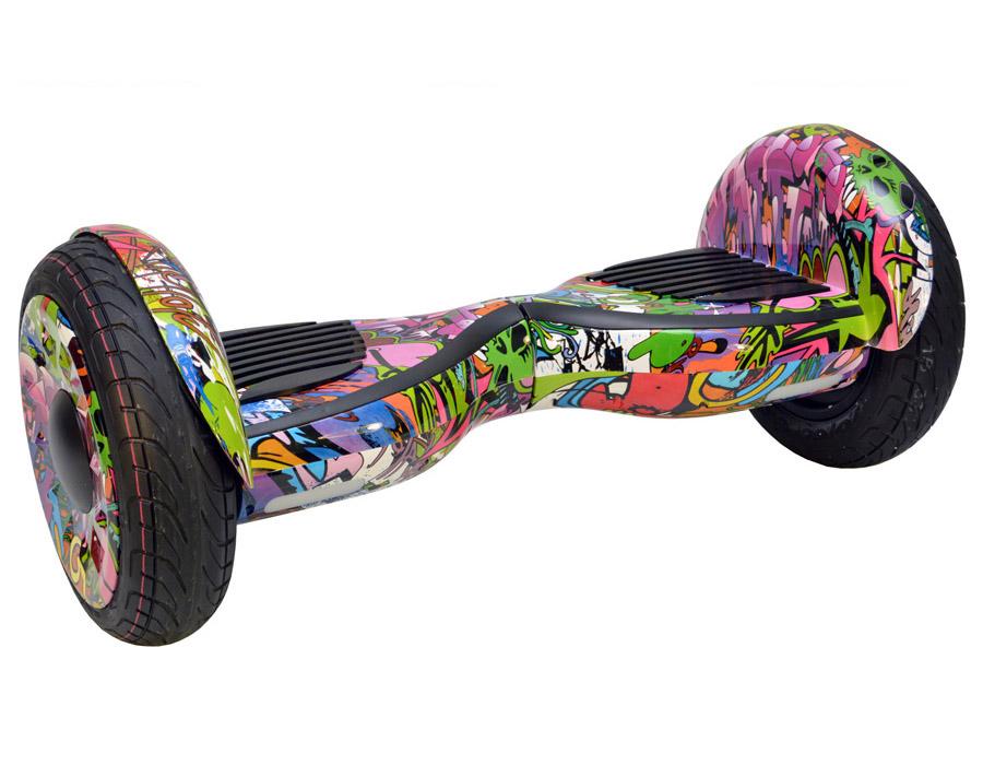 Гироскутер граффити фиолетовый 10,5