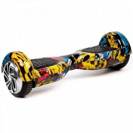 Гироскутер Smart Balance Wheel 6,5 граффити желтый