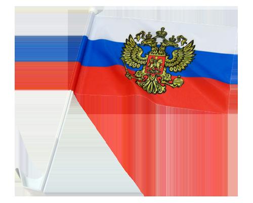 Флаг на машину Россия