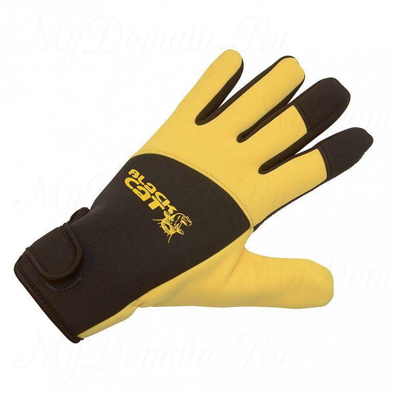 Перчатки неопрен Black Cat Deluxe размер XL