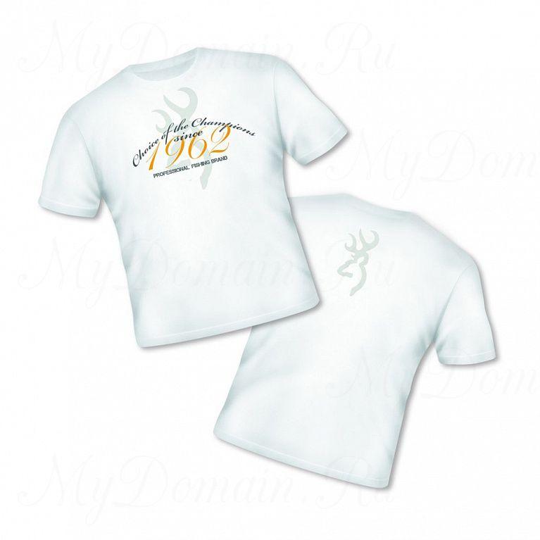 Футболка Browning Т-Shirt Classic белая размер XXXL