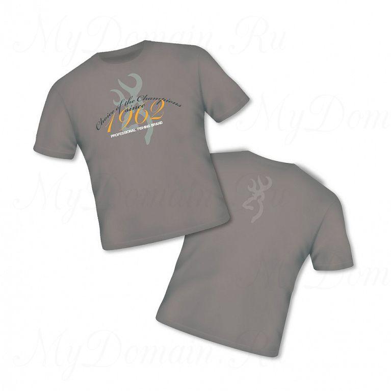 Футболка Browning Т-Shirt Classic бежевая размер XL