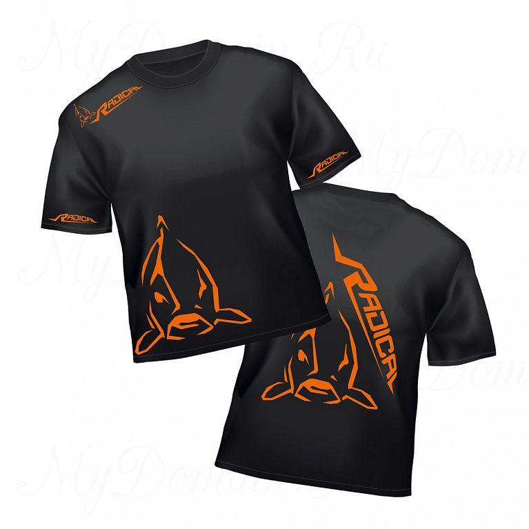 Футболка Radical T-Shirt XXL чёрная размер XXL