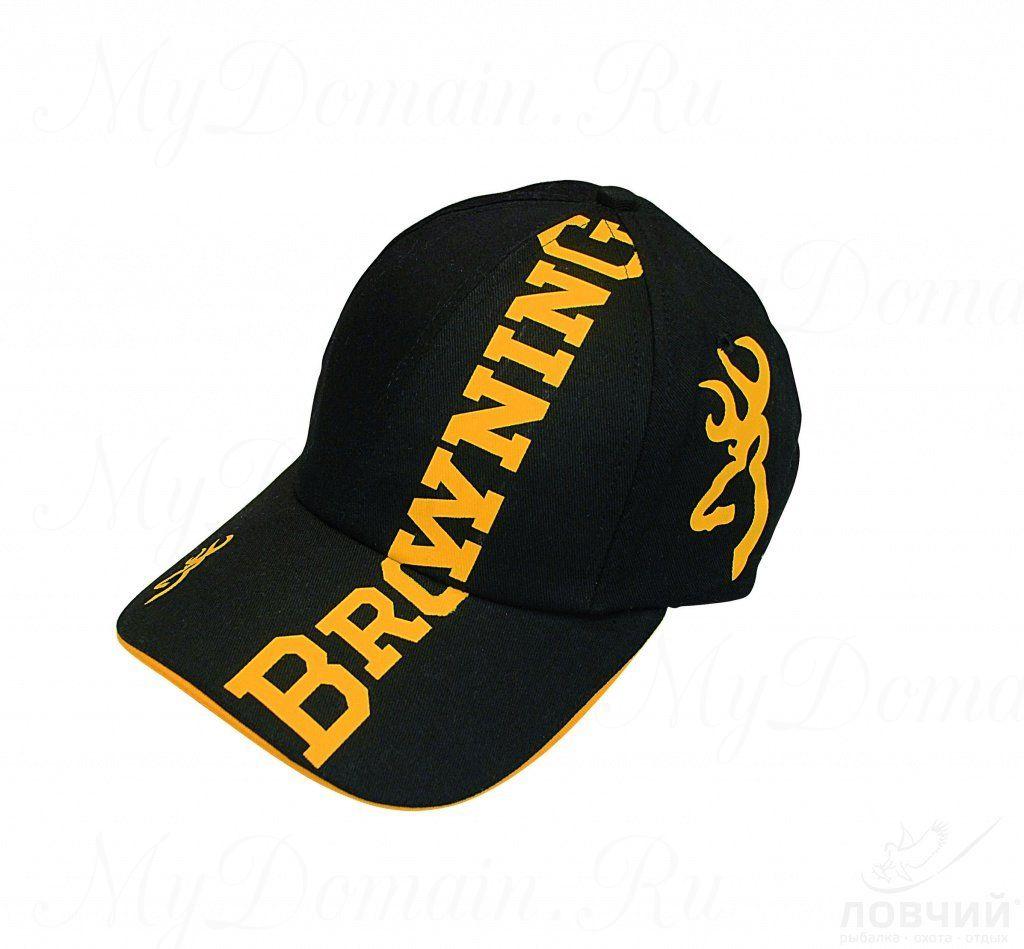 Кепка Browning черная