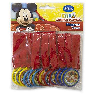 Медали Микки Маус, 12 штук