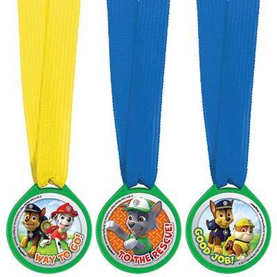 Медали Щенячий Патруль, 12 штук