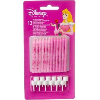Свечи для торта Принцессы, 12 штук