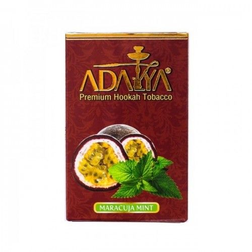 Табак для кальяна Adalya Maracuja mint (Маракуйя с мятой)