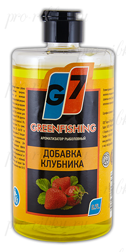 "Добавка Greenfishing ""клубника"", объем 700 мл"