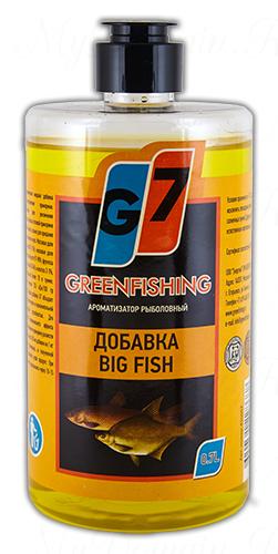 """Добавка Greenfishing """"крупная рыба"""", объем 700 мл"""
