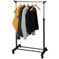 Напольная передвижная стойка для одежды SINGLE-POLE TELESCOPIC CLOTHES RACK (2)