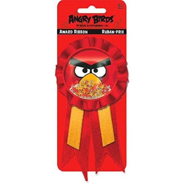 Значок Angry Birds с лентой, 1 шт.