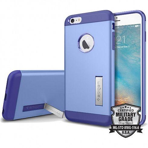 Чехол Spigen Slim Armor для iPhone 6S Plus сиреневый