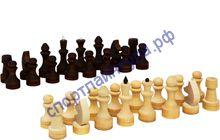 Шахматные фигуры №3 парафинированные