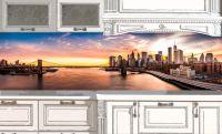 Фартук кухни - Добрый вечер, Нью-Йорк! купить в магазине Интерьерные наклейки
