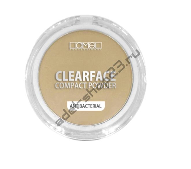 Lamel - Пудра антибактериальная Professional ClearFace
