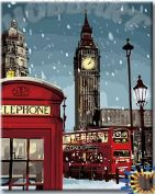 Картина по номерам "Зимний Лондон"
