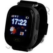 Часы детские с GPS OT-SMG15 (02) Черный ,трекер , срочн. звонок одной кнопкой на 2 сохран. номера,