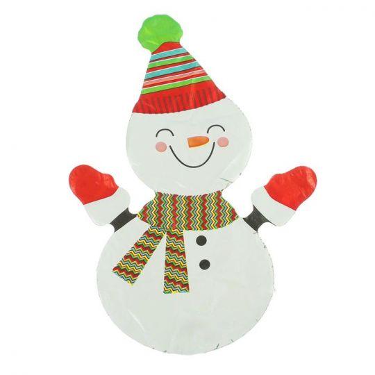 Снеговик на палочке