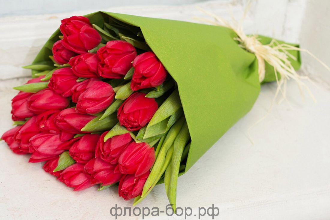 Букет из 101 тюльпанов