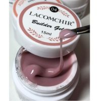 Lacomchir гель для наращивания Cover Pink телесный 04, 15 мл