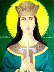 Икона Иулиания Ольшанская (копия старинной)