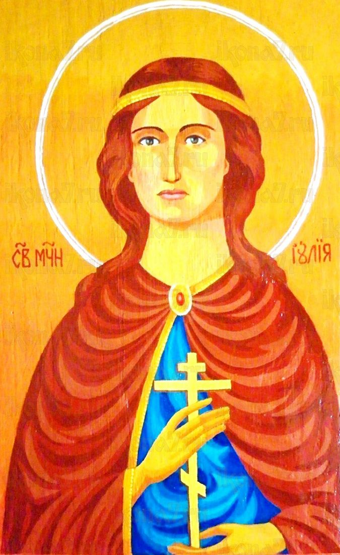 Икона Иулия Анкирская (копия старинной)