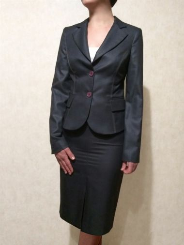 Костюм классика с брюками темно-синего цвета