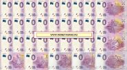 Zero Euro Памятные банкноты 0 Евро Чемпионат мира по футболу FIFA 2018. Набор 32 шт.