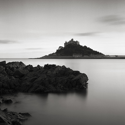 Saint Michael's Mount At Sunset