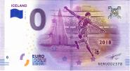 ЧМ по футболу в России 0 евро 2018 г. ИСЛАНДИЯ UNC