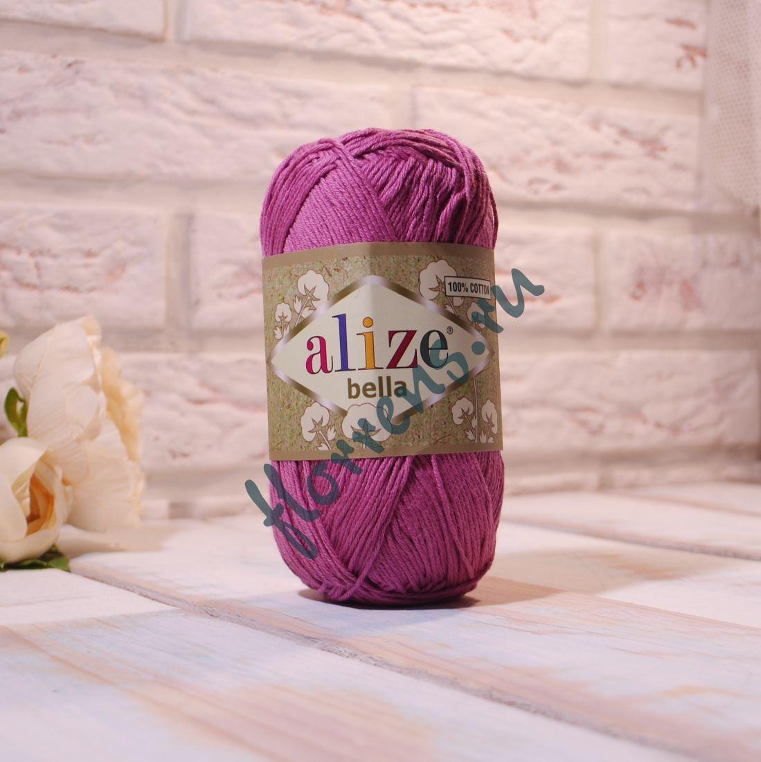 """Пряжа """"Alize"""" Bella / 45 лиловый"""