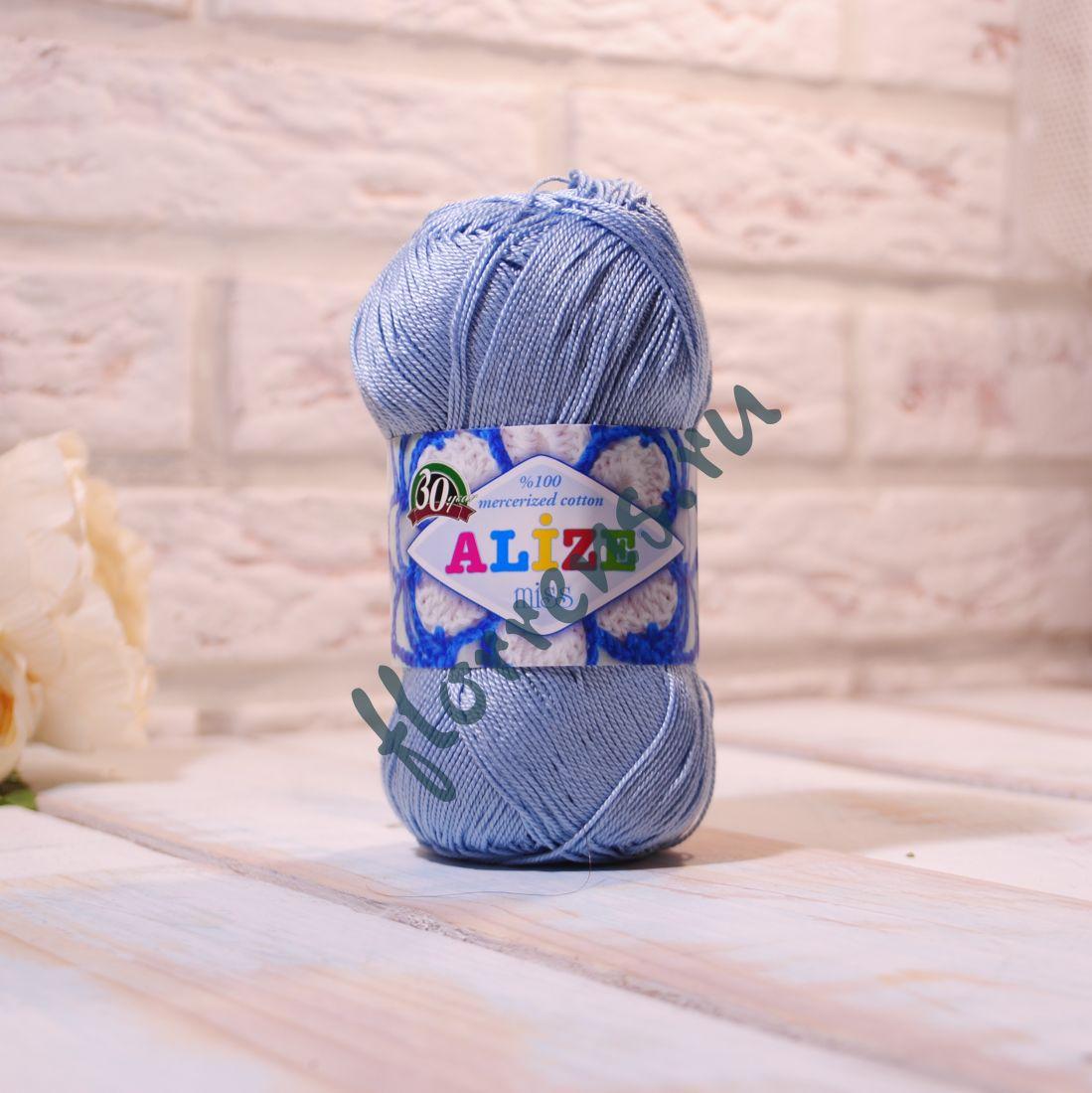 Пряжа Alize Miss / 480 голубой