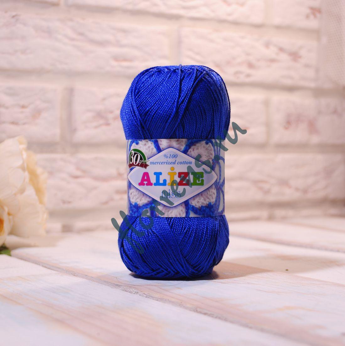 Пряжа Alize Miss / 497 темно-синий