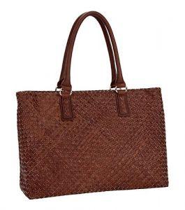 Итальянская плетёная сумка