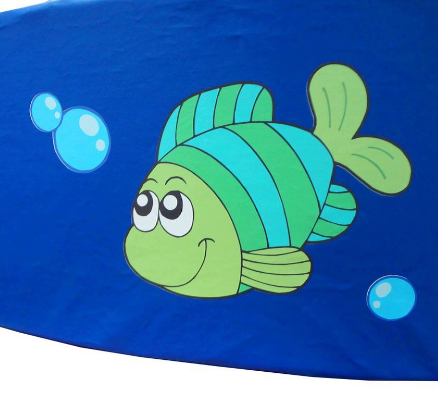 """Сухой бассейн """"Морские обитатели"""", угловой 2*2 м"""