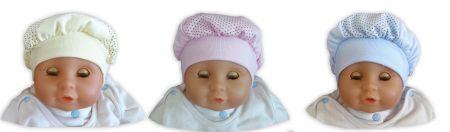 Беретка для новорожденного
