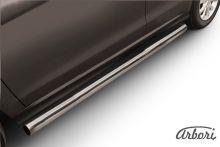 Защита штатных порогов, SL-Arb, сталь ф 76мм