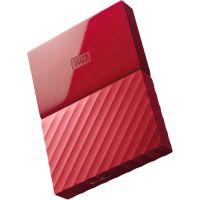 Внешний жесткий диск WD 1TB My Passport красный
