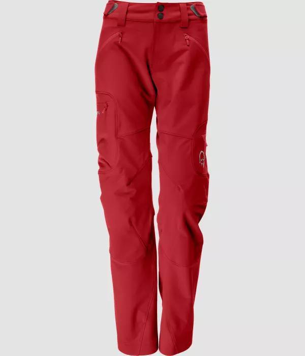 Norrona Svalbard flex1 Pants JESTER RED W