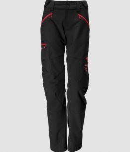 Norrona Svalbard flex1 Pants CAVIAR / JESTER RED  W